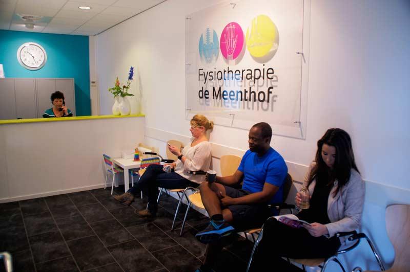 Wachtruimte Fysiotherapie de Meenthof